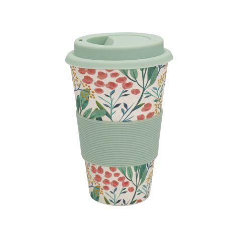 GreenGate Travel Mug Becher Megan White