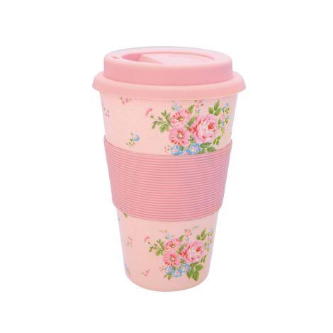 GreenGate Travel Mug Becher Marley Pale Pink