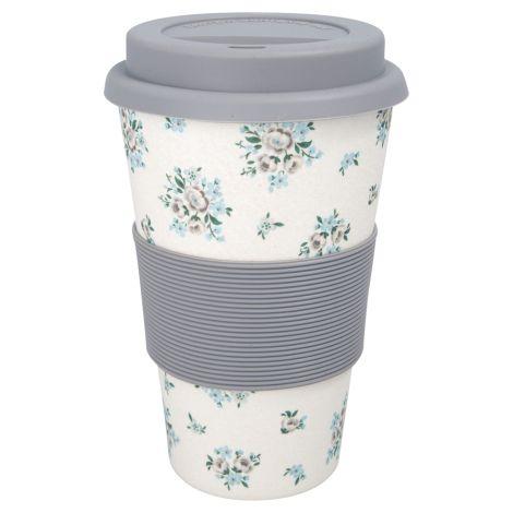 GreenGate Travel Mug Becher Nicoline Beige