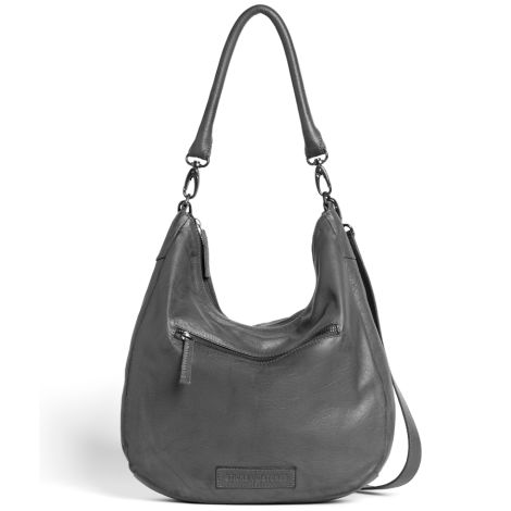 Sticks and Stones Ledertasche Barossa Light Grey Washed