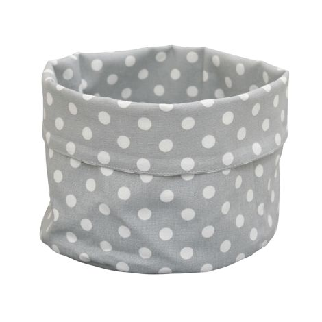 Krasilnikoff Brotkorb Dots Grey
