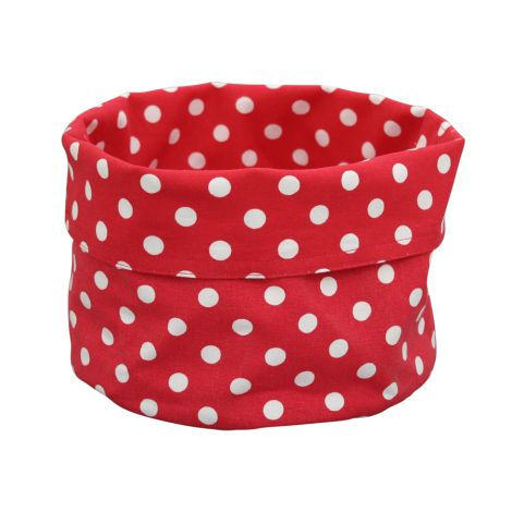 Krasilnikoff Brotkorb Dots Red