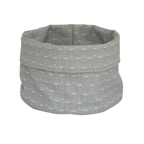 Krasilnikoff Korb Blossom Grey L