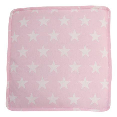 Krasilnikoff Sitzkissenbezug Pink with Stars