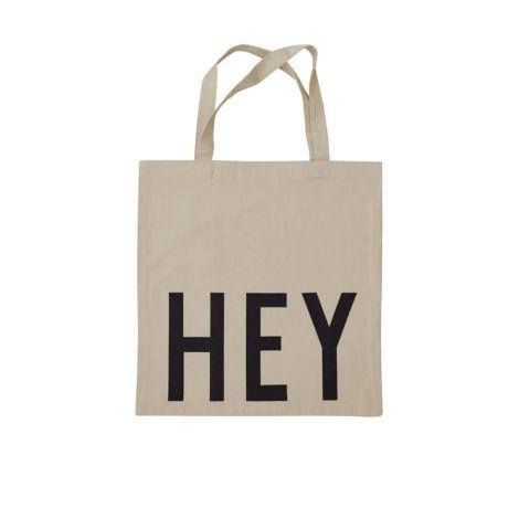Design Letters Tasche Favourite Hey Beige