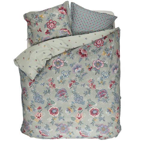 pip studio bettw sche berry bird green online kaufen emil paula. Black Bedroom Furniture Sets. Home Design Ideas