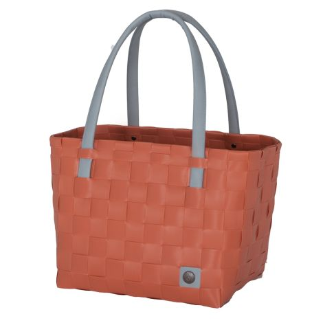 Handed By Shopper Color Block Canyon Clay
