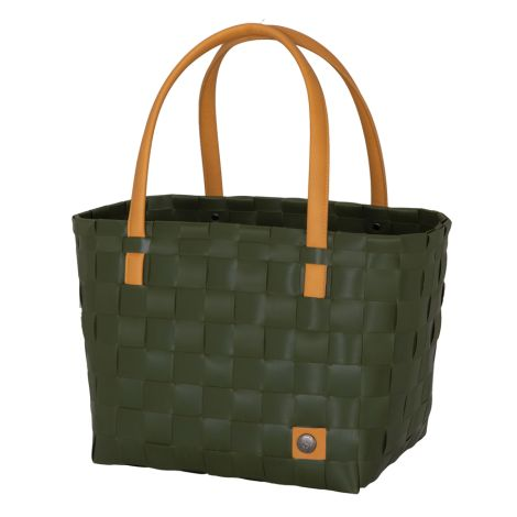 Handed By Shopper Color Block Hunting Green