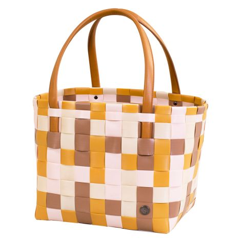 Handed By Shopper Color Block Honey Mix