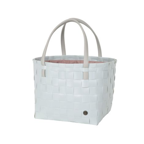 Handed By Tasche Shopper Color Delux mit Zip Cover Misty Grey