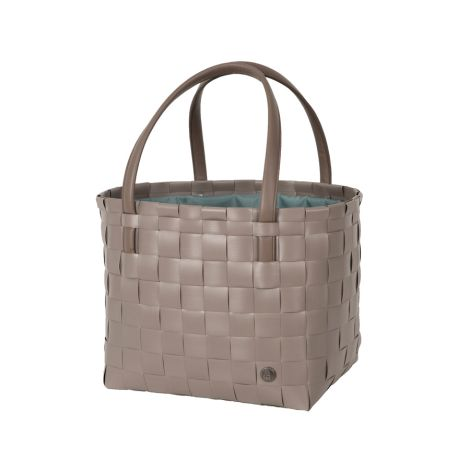 Handed By Tasche Shopper Color Delux mit Zip Cover Liver