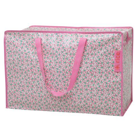 Rice Große Tasche Liquid Spot Pink