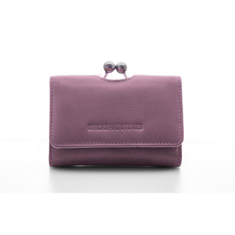 Sticks and Stones Portemonnaie Biarritz Mauve Pink Washed