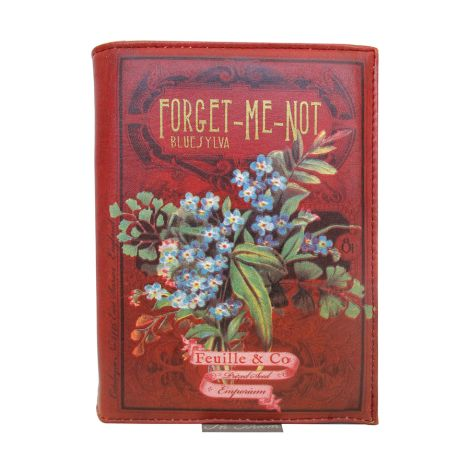 Disaster Designs Clutch Handtasche In Bloom Forget Me Not