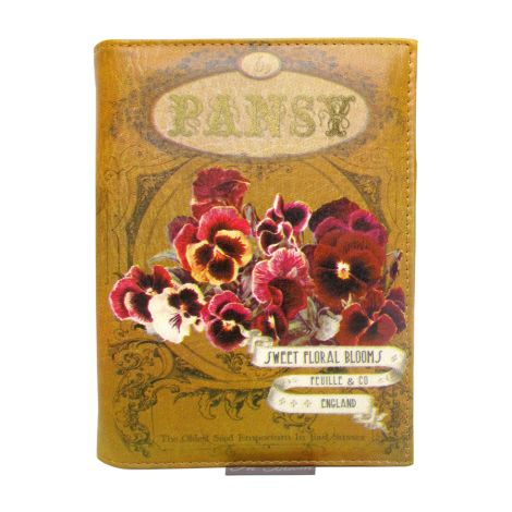Disaster Designs Clutch Handtasche In Bloom Pansy •