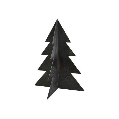 House Doctor Weihnachtsbaum Glizz Schwarz 26 cm