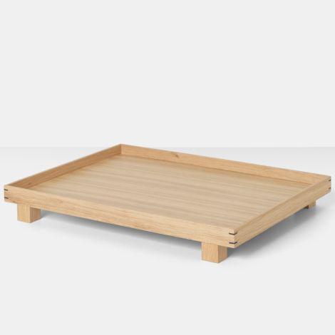 ferm LIVING Tablett Holz Bon Oak L