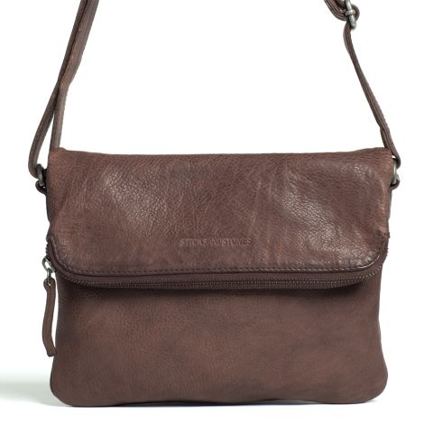 Sticks and Stones Ledertasche Bondi Taupe •