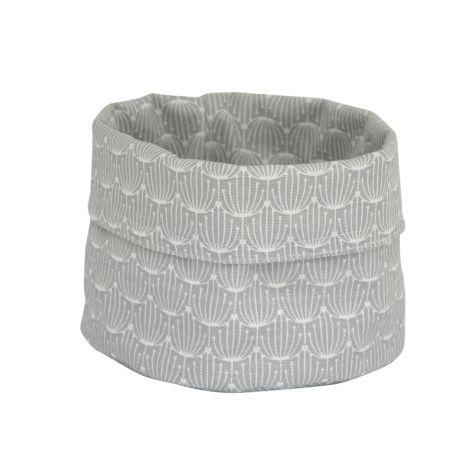 Krasilnikoff Korb Blossom Grey S