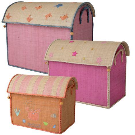 Rice Spielzeugkorb Spielhaus Fairytale
