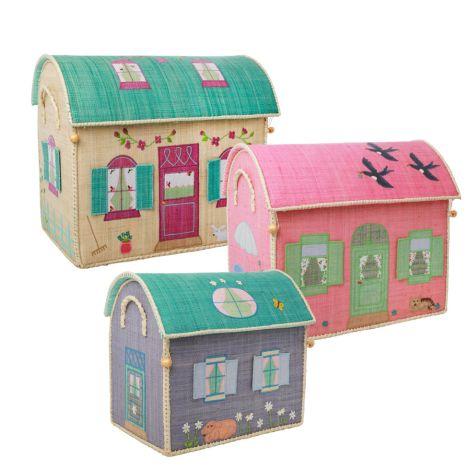 Rice Spielzeugkorb House