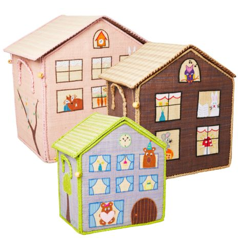 Rice Spielzeugkorb Jungle House L