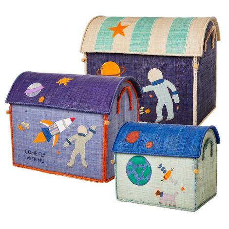 Rice Spielzeugkorb Space