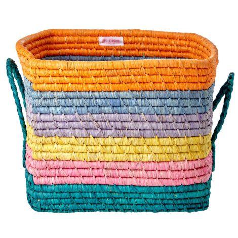 Rice Aufbewahrungskorb Let's Summer Stripes