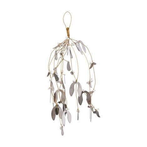 House Doctor Deko-Ornament Misteltoe Antik Metallisch Large