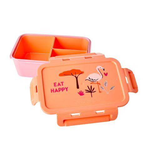 Rice Lunchbox Brotdose mit 3 separaten Dosen Coral Jungle