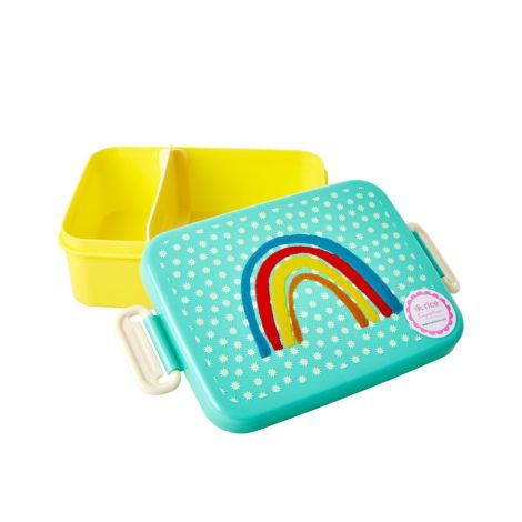 Rice Brotdose Lunchbox Rainbow and Stars