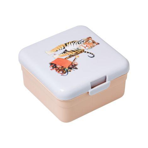 Rice Kinder-Lunchbox Brotdose Klein Retro Tiger