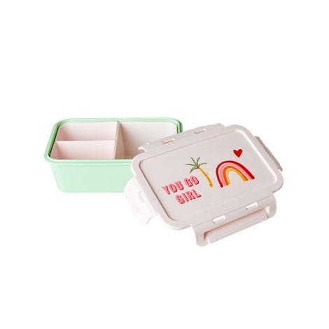 Rice Lunchbox Brotdose mit 3 separaten Dosen You Go Girl