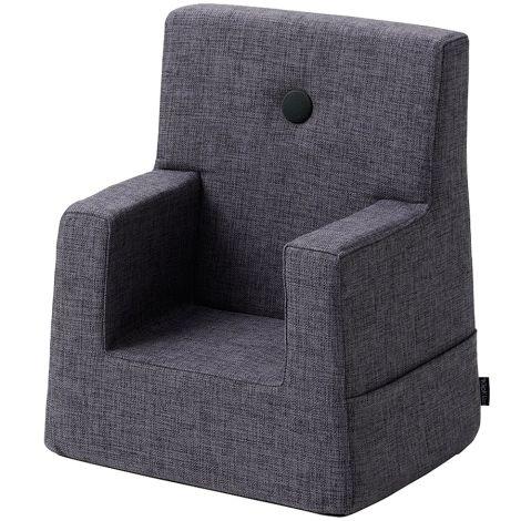 by KlipKlap KK Kids Chair Sessel Blue Grey/Grey