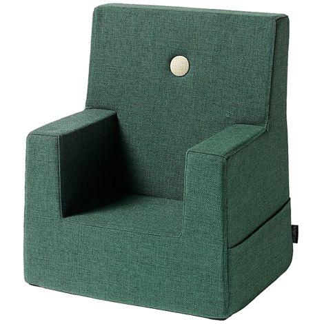 by KlipKlap KK Kids Chair Sessel Deep Green/Light Green