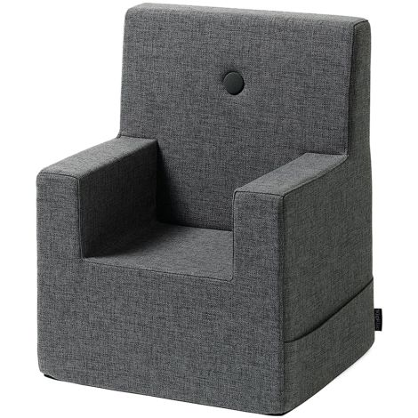by KlipKlap KK Kids Chair Sessel XL Blue Grey/Grey