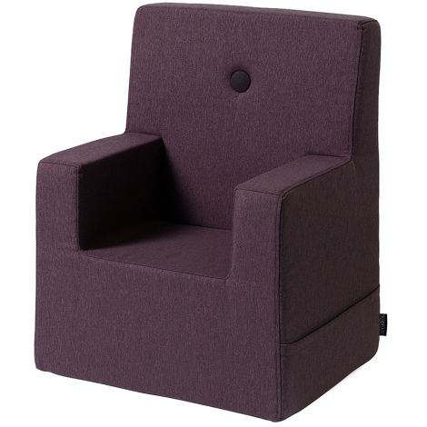 by KlipKlap KK Kids Chair Sessel XL Plum/Plum