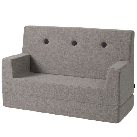 by KlipKlap KK Kids Sofa Multi Grey/Grey