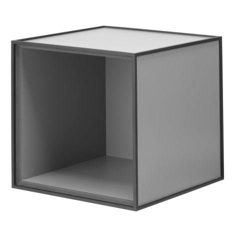 by Lassen Box Frame 28 Dark Grey