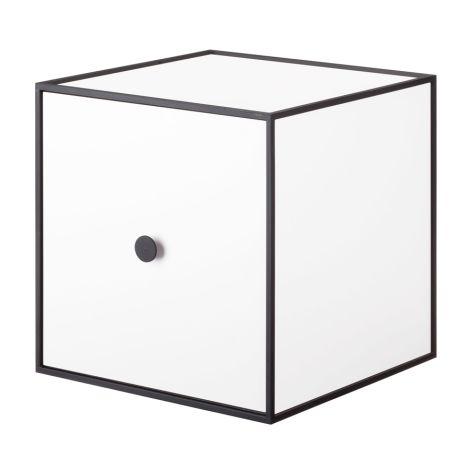 by Lassen Box inkl. Tür Frame 28 White