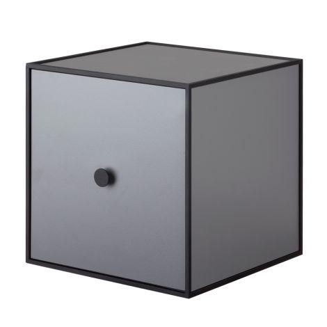 by Lassen Box inkl. Tür Frame 28 Dark Grey