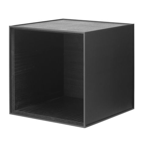 by Lassen Box Frame 35 Black Stained Ash
