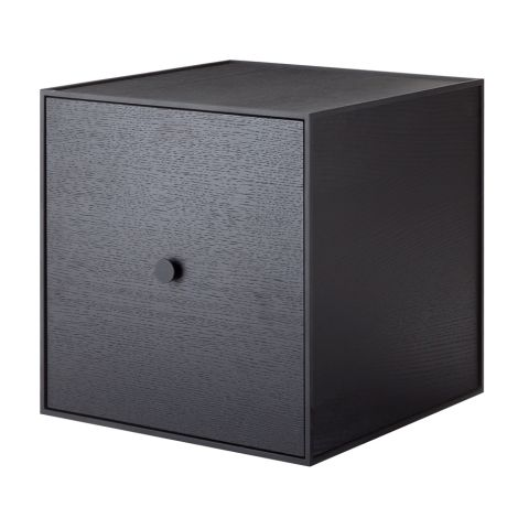 by Lassen Box inkl. Tür Frame 35 Black Stained Ash