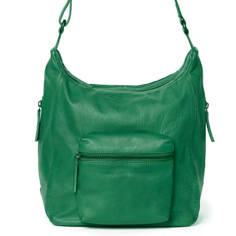 Sticks and Stones Ledertasche Calgary Cactus Green Washed