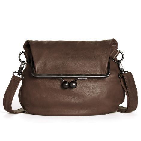 Sticks and Stones Ledertasche Cannes Mocca Washed
