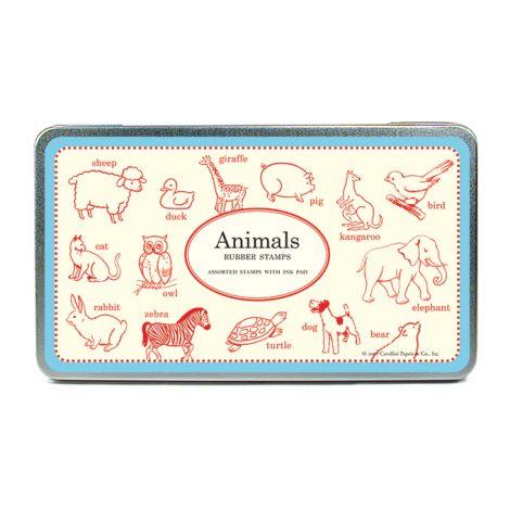 Cavallini Stempelset Animals •