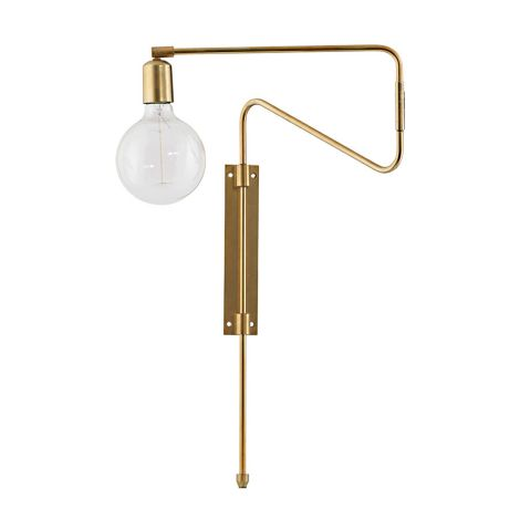 House Doctor Wandlampe Swing Messing M