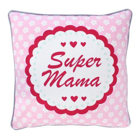 Krasilnikoff Kissenbezug Super Mama