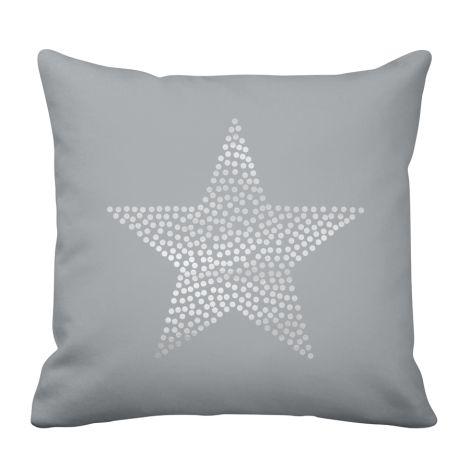 Krasilnikoff Kissenhülle Star Grey •