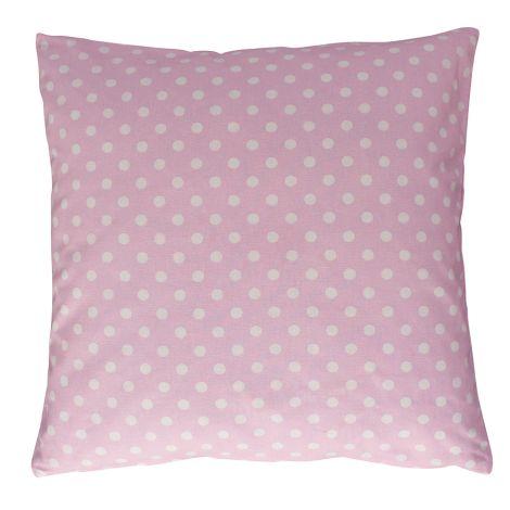 Krasilnikoff Kissenbezug Pink with Dots